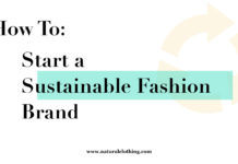 How To: Start a Sustainable Fashion Brand